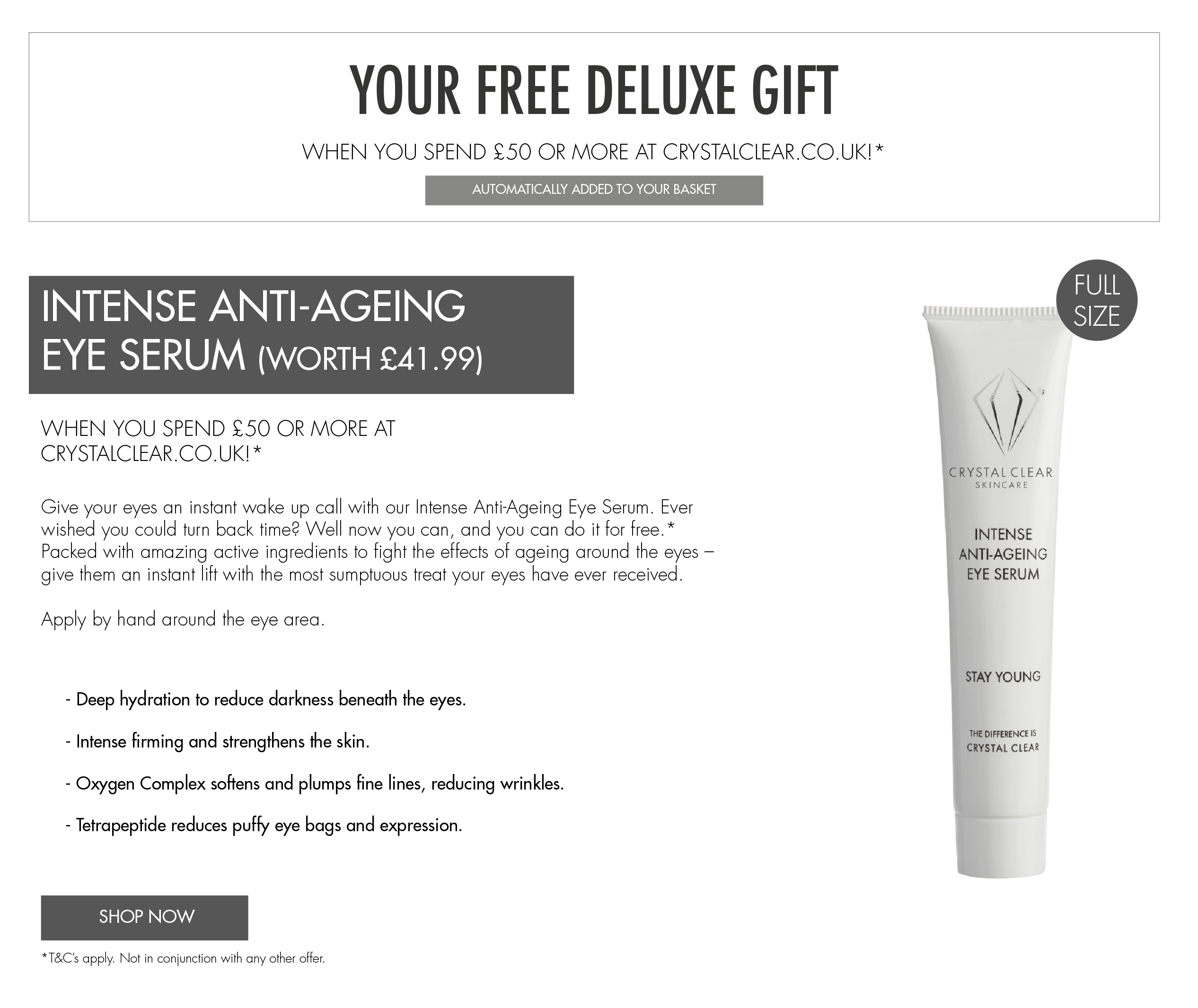 free gift with purchase May 2019